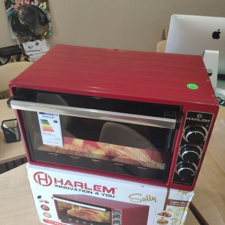 Печь HARLEM 36 литров. Красная. Новая. Турция. Гарантия 1 год. Звоните