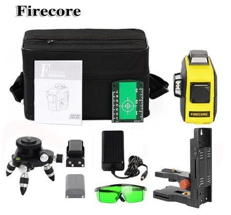 60 МЕТРОВ 3D Firecore F93T-XG+МАГНИТ Лазерный уровень/лазерный нивелир