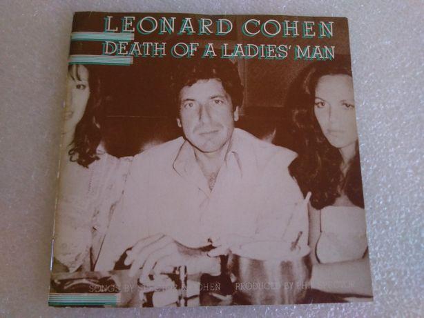 Antigo CD de Leonard Cohen 1977 Raro