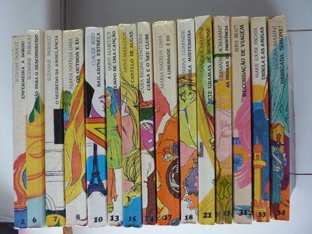 Coleção Boutique Verbo - livros vintage juvenis