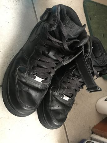 Nike Air Force 1 MID 43 czarne jak nowe