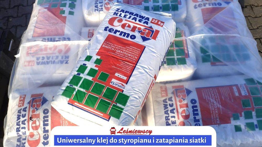 KLEJ do siatki i styropianu 2w1 25kg-UNIWERSALNY Kurier! Atlas Knauf Pleszew - image 1