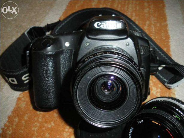 Máquina fotográfica Canon 20D
