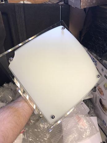 glacier plafon lazienkowy lampa szklana ze szkla