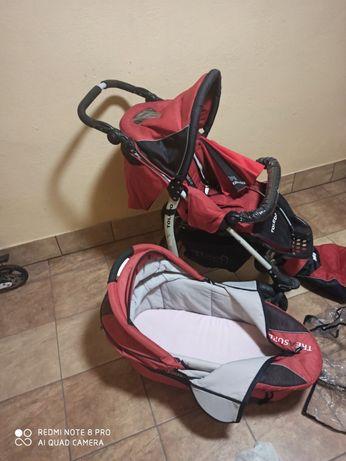 Wózek dziecięcy Coneco Toledo 3w1 + nosidełko