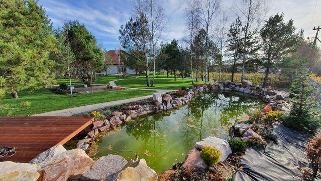 Usługi ogrodnicze, systemy nawadniające, tarasy, projekty ogrodów