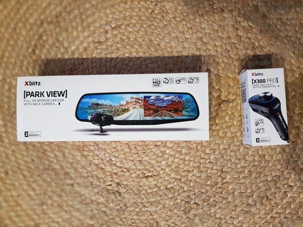 * Wideorejestrator XBLITZ PARK VIEW + Zestaw Głośnomówiący X300 PRO *