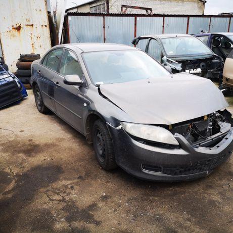 Mazda 6 2,0B,108 kW-2006r-na części