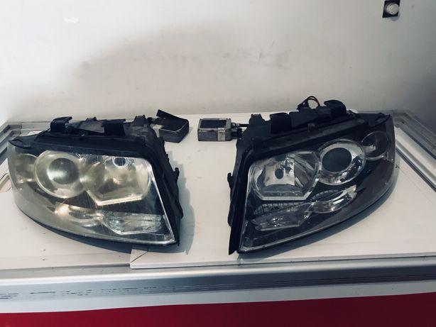 Par de ópticas  Usadas originais da Valeo + Xenon Audi B6