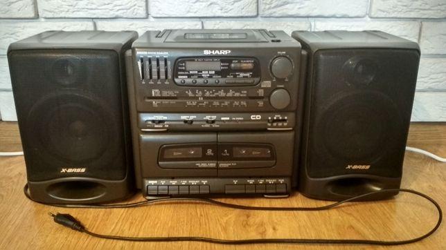 Wieża Boombox Sharp SYSTEM-CD555H(GY) [RADIO, KASETA, PŁYTA]
