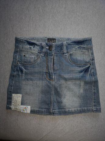 Spódniczka jeansowa dziewczęca