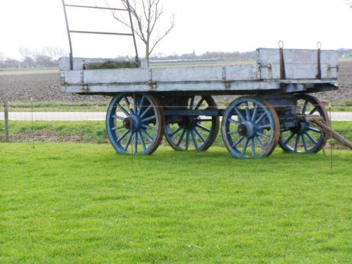 Zabytkowy wagon konny rolnika z Holandii