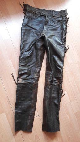 Spodnie na motocykl wiązane męskie