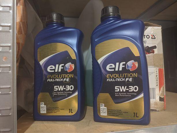 Olej Elf 5w30 diesel dpf renault 2l 1+1l