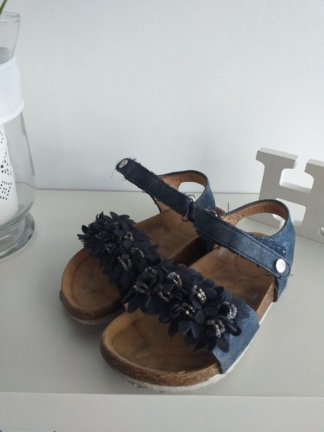 Sandałki granatowe
