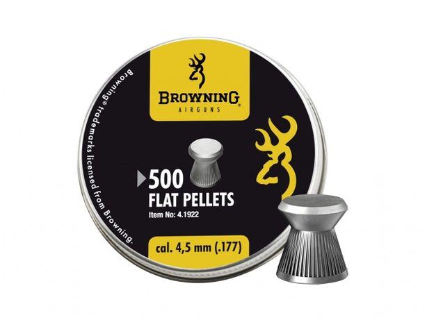 Śrut diabolo Browning Ribbed gładki 4,5/500