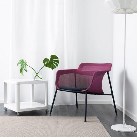 IKEA PS 2017 Fotel, różowy, niebieski 803.629.50