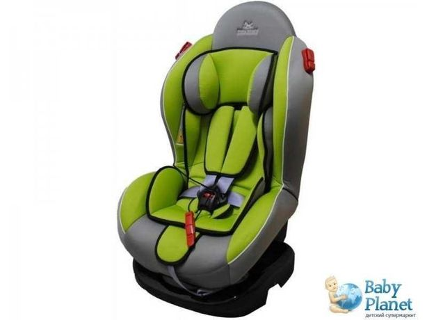 Автокресло Baby Shield Welldon Smart Sport II (зеленое с серым)