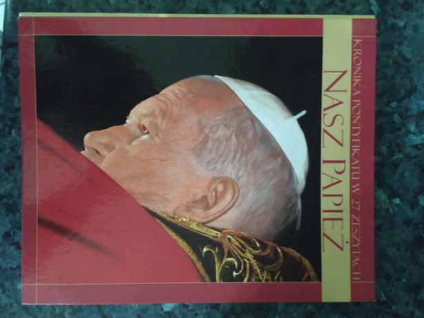 Album, ksiażka o papieżu