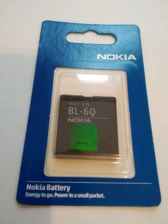 Оригинальный аккумулятор Nokia BL-6Q 6700 Classic в фирменной упаковке