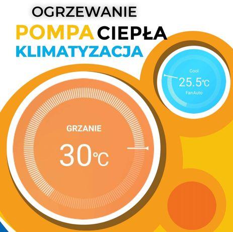 Klimatyzacja Tanie Ogrzewanie LG Haier Montaż Pompa Ciepła