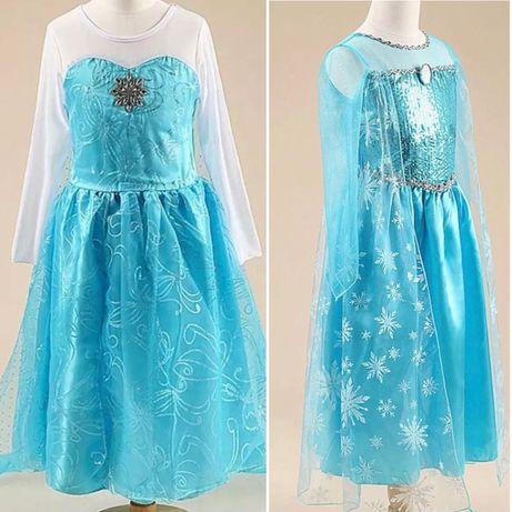 Платье Эльзы для девочек
