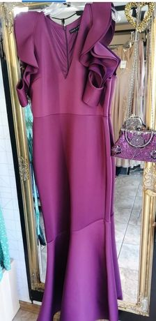 True Violet piękna nowa sukienka syrenka