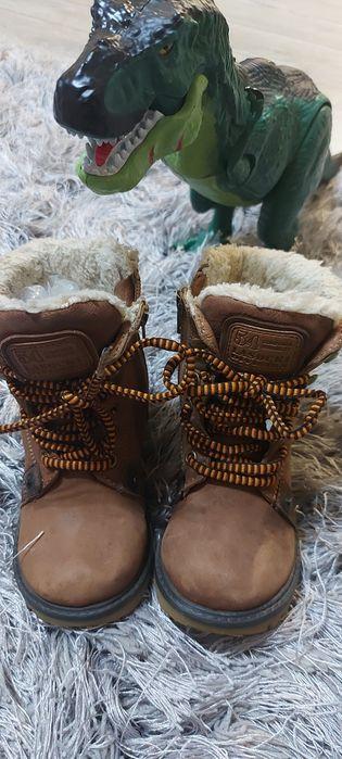 Buty skórzane ocieplane Lasocki 26 Świdwin - image 1