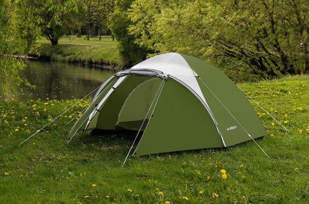 Палатка туристическая новая Acamper Acco 3 двухслойная водостойкая