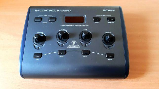 Behringer B-Control Nano  - Controlador MIDI p/ teclados , módulos etc