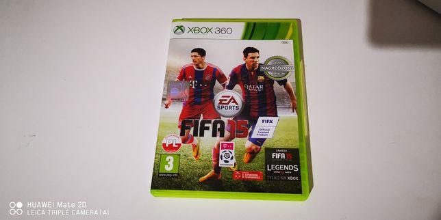 Gra Xbox 360 FIFA 15 polski dubbing, stan bardzo dobry