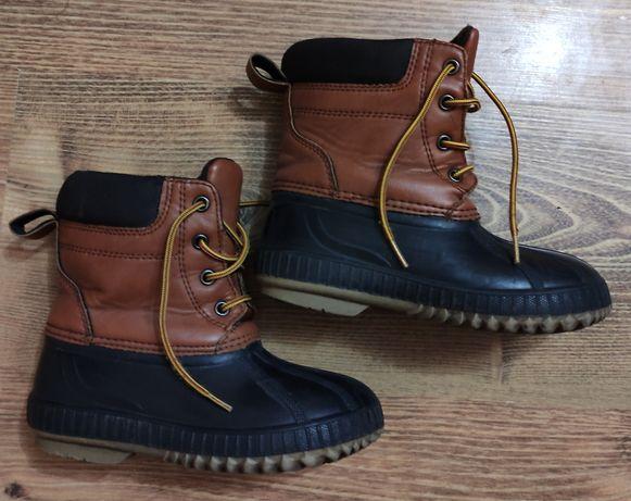 Продам утеплённые прорезиненные ботиночки