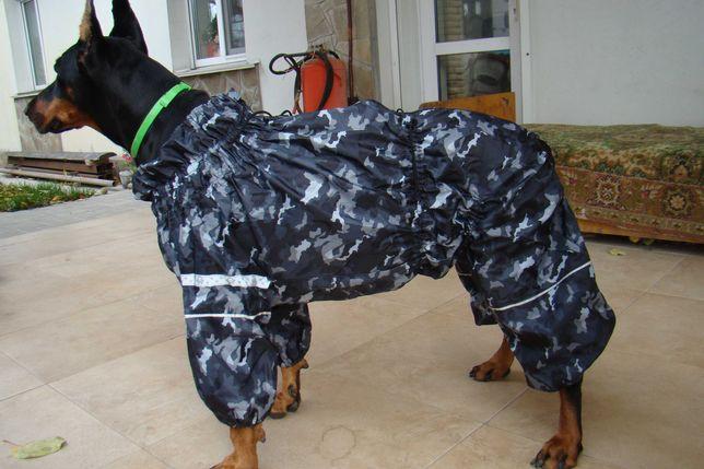 Комбинезон дождевик б/у для крупных собак девочек (доберман, боксер)