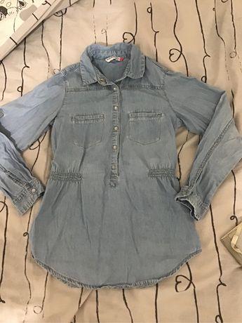 Tunika jeans reserved rozm 134 cm