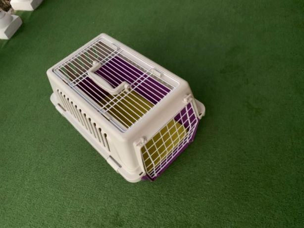 Skrzynka transportowa dla psa dla kota dla królika Jak Nowa