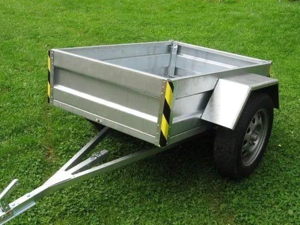 Przyczepka quad traktorek ocynk solidna