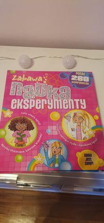 Książka do nauki eksperymantów z dziećmi