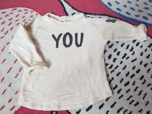 Bluzka koszulka Zara r.86