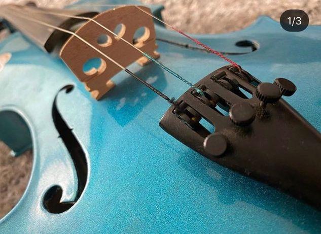 Violino 4/4 Azul