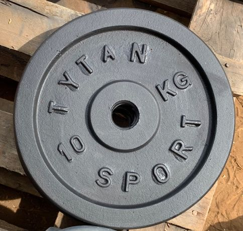 Obciążenia do sztang talerze żeliwne 2 x 10 kg 20kg NAJTANIEJ 30 mm