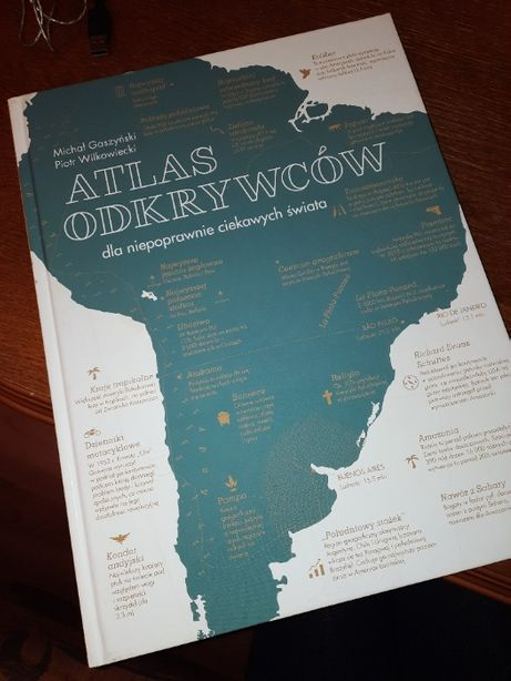 Atlas odkrywców - M. Gaszyński, P. Wilkowiecki