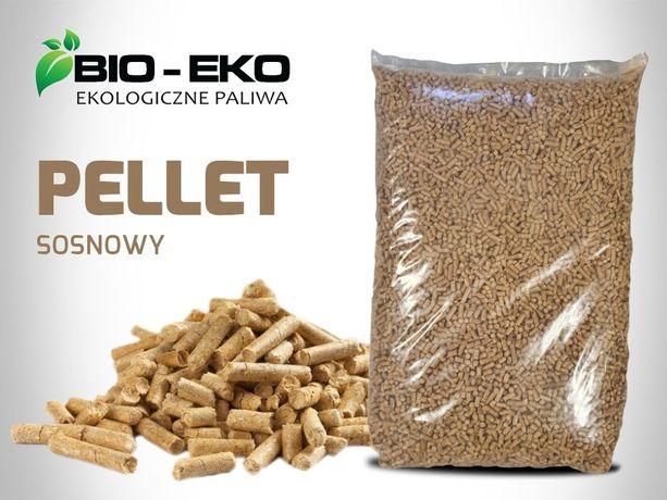 Pellet Pelet BioEko Hurt Detal 6mm pakowany 15 kg transport GRATIS