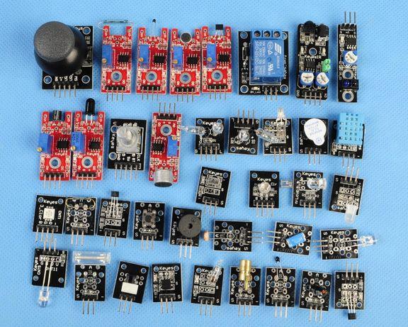Arduino набор датчиков сенсоров модулей 37шт для робототехники Ардуино