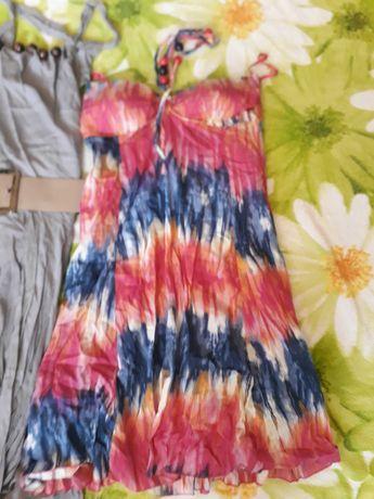 Платье сарафан летние вещи М 46 женские