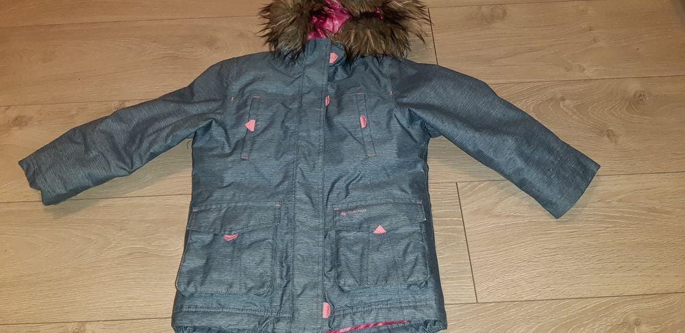 Kurtka zimowa dziewczeca Quechua wtp-sh500 u-warm Wrocław - image 1