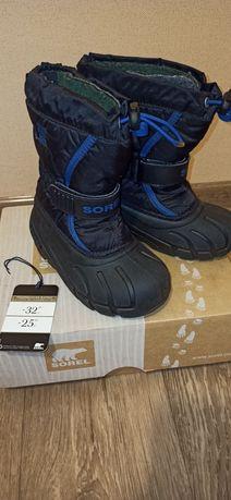 Термосапоги, ботинки Sorel, 27 р.