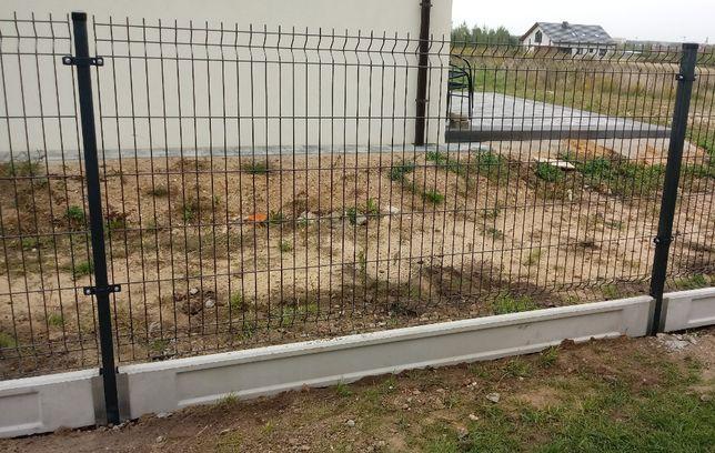 Panel ogrodzeniowy ogrodzenia panelowe z MONTAŻEM cena za metr fi 5