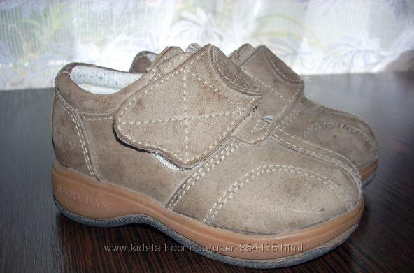 Ботиночки, туфельки из натуральной кожи Sanyuan Италия