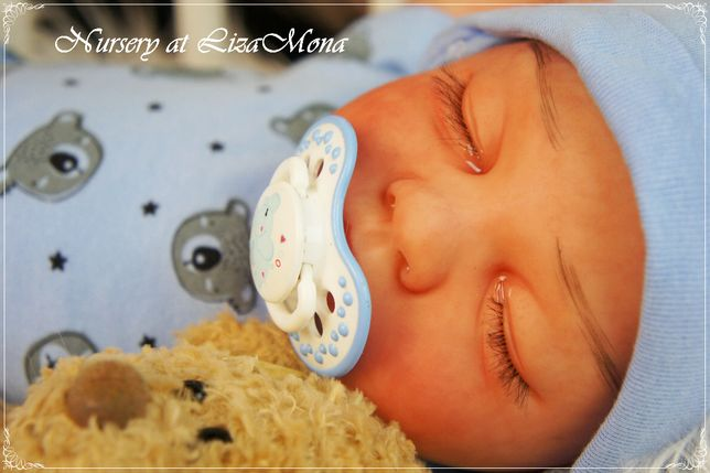OLIVIA lalka REBORN 53 cm (nie)prawdziwe niemowlę ,