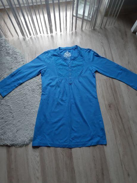 Bluzka tunika dziewczęca z 3/4 rękawem